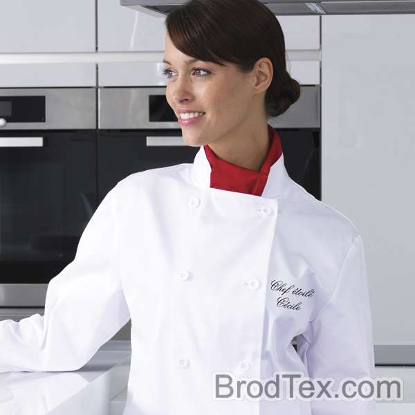 Exemple de v tements et d 39 quipement brod s - Broderie veste de cuisine ...